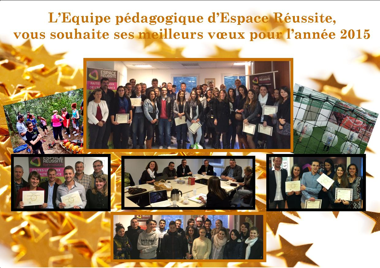 VOEUX ESPACE REUSSITE - 2015